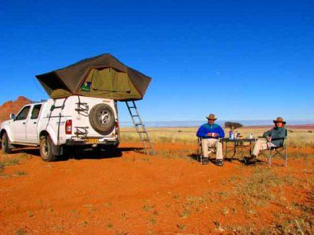 Afrika Erfahren, Namibia Rundreise mit Allrad Camper, Selbstfahrer, Camping, Tirasberge