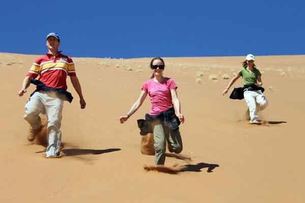 Afrika Erfahren, Namibia für Selbstfahrer Familienurlaub, Sossusvlei, Familie, Kinder, Big Daddy