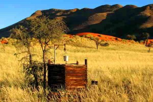 Afrika Erfahren, Namibia, Tok-Tokkie-Wanderung, Dusche unter freiem Himmel
