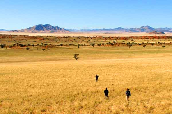 Afrika Erfahren Namibia Tok-Tokkie-Wanderung Weite