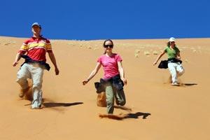 Afrika Erfahren, Namibia, Familienausflug, Sossusvlei