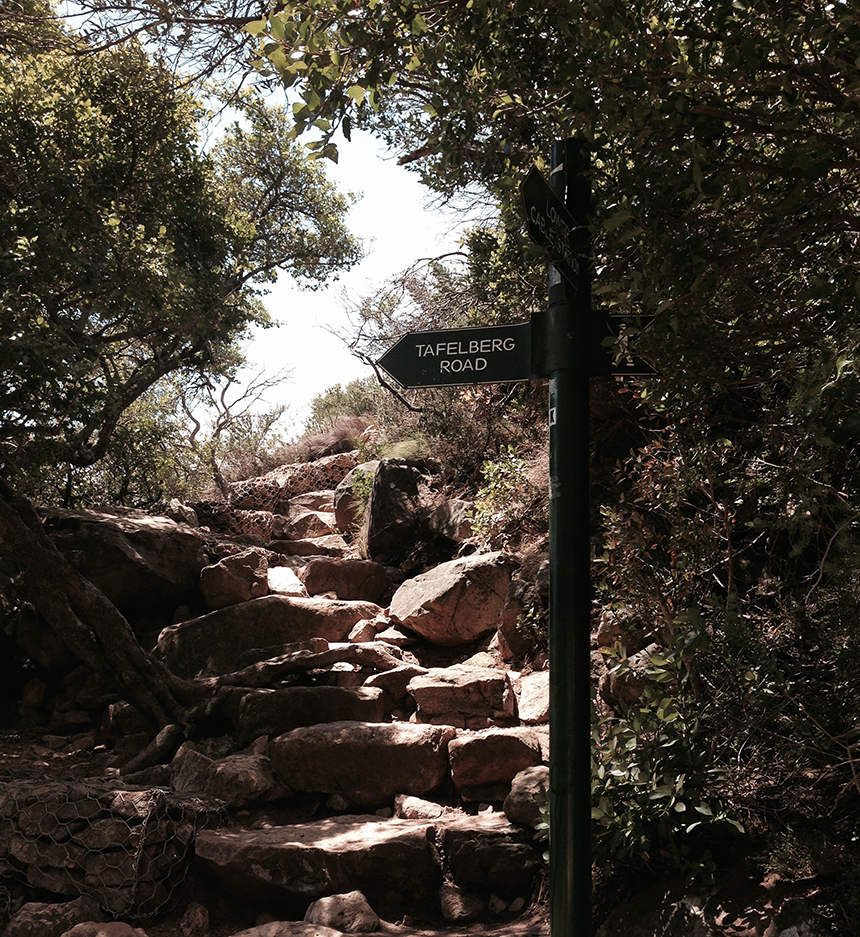 Südafrika, Garden Route, Kapstadt, Tafelberg, Wandern, Schuhe, Seilbahn