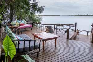 Afrika Erfahren, Botswana Rundreise Selbstfahrer ums Okavango Delta, Guma Lagoon Lodge