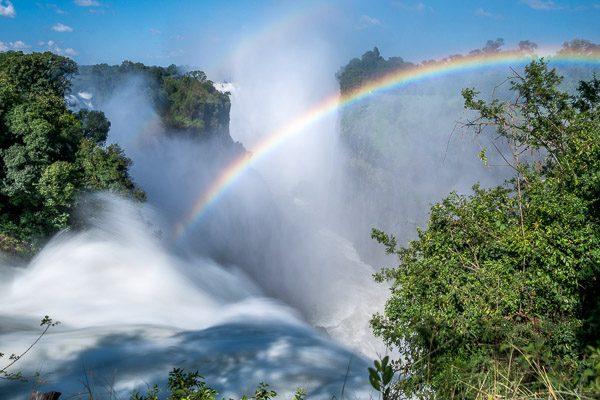 Afrika Erfahren, Botswana Simbabwe Rundreise Mietwagen, Victoria Falls, Devils Cataract