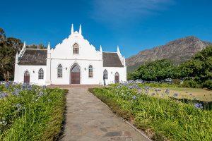 Garden Route Rundreise, Südafrika, Selbstfahrer Rundreise, Franschhoek, Kirche