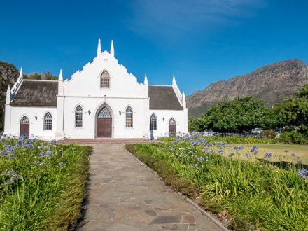 Afrika Erfahren, Südafrika, Selbstfahrer Rundreise, Franschhoek, Kirche