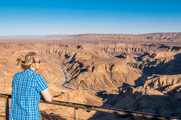 Afrika Erfahren, Namibia, Mietwagen, Fish River Canyon Viewpoint