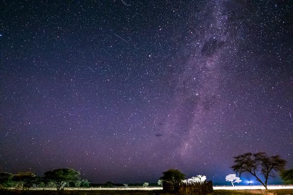 Afrika Erfahren, Namibia, Selbstfahrer Rundreise, Sternenhimmel über Namibia