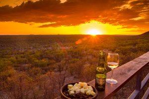 Afrika Erfahren, Namibia, Selbstfahrerreise, Sundowner im Damaraland