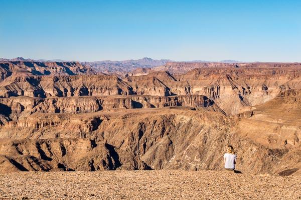 Afrika Erfahren, Namibia, Selbstfahrerreise, Fish River Canyon Ausblick