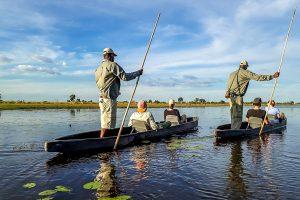 Afrika Erfahren, Botswana, Selbstfahrer, Mokoro fahren
