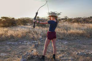 Afrika Erfahren, Namibia, Mietwagenreise, Bogenschiessen