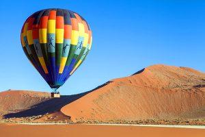Afrika Erfahren, Namibia, Selbstfahrerreise, Ballon fahren