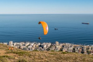 Afrika Erfahren, Südafrika, Mietwagenreise, Paragliding