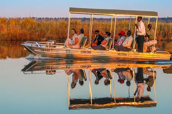 Afrika Erfahren, Botswana, Selbstfahrer, Bootsausflug, Okavango Delta