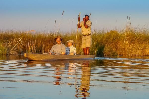 Afrika Erfahren, Botswana, Selbstfahrer Rundreise, Mokoro, Okavango Delta