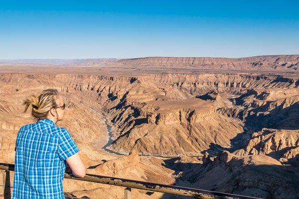 Selbstfahrer Rundreise Namibia, Afrika Erfahren, Fish River Canyon, Viewpoint