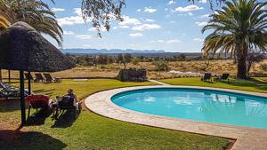 Afrika Erfahren, Windhoek nach Kapstadt, Auas Safari Lodge