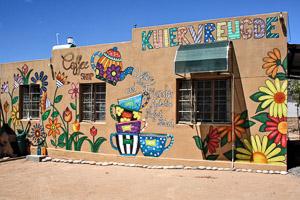Afrika Erfahren, Als Selbstfahrer von Windhoek nach Kapstadt, Coffee Shop Kuivervreugde