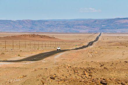 Afrika Erfahren, Windhoek nach Kapstadt, Strecke
