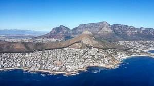 Afrika Erfahren, Kapstadt, Hubschrauberflug, Tafelberg