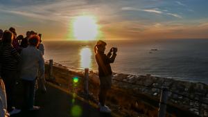 Afrika Erfahren, Signal Hill, Sonnenuntergang, Kapstadt