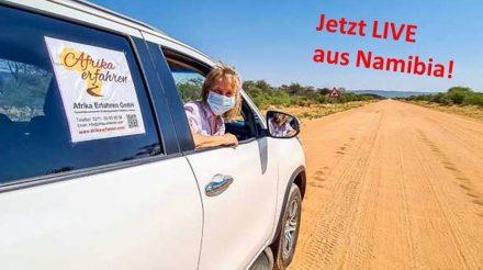 Mietwagen Namibia Corona Strasse
