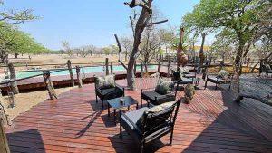 Selbstfahrer Namibia Corona, Etosha Oberland Lodge, Pool