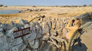 Selbstfahrer Namibia Corona, Etosha, Okauquejo Wasserloch