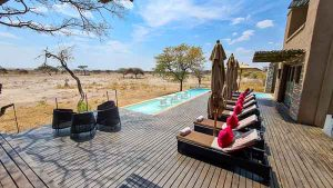 Selbstfahrer Namibia Corona, Onguma, The Fort, Pool