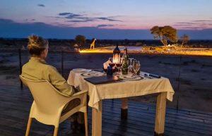 Selbstfahrer Namibia Corona, Onguma, The Fort, Terrasse, Afrika Erfahren