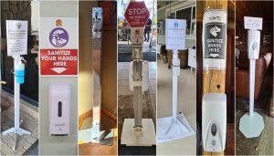 Afrika Erfahren, Namibia, Corona, Sanitizer, Desinfektionsmittel, Hygiene