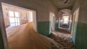Namibia Rundreise Mietwagen Corona, Kolmannskuppe, Krankenhaus
