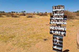 Namibia Rundreise Selbstfahrer, Corona, Red Dunes Lodge, Wandern, Walk