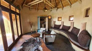 Namibia Rundreise Selbstfahrer, Corona, Red Dunes Lodge, Chalet