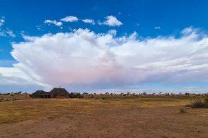 Namibia Rundreise Mietwagen, Red Dunes Lodge, Wolken