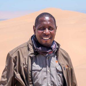 Namibia, Selbstfahrer, Rundreise, Corona, Wüste, Swakopmund, Living Desert Tour, Staff, Portrait
