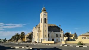 Namibia Selbstfahrer Rundreise Corona, Swakopmund, Kirche
