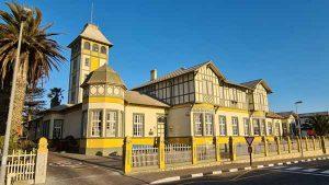 Namibia Selbstfahrer Rundreise Corona, Swakopmund, Woermann Haus