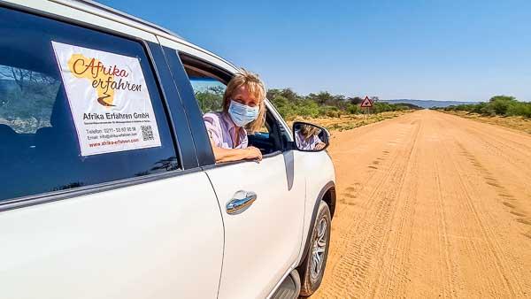Namibia Selbstfahrer in Corona Zeiten