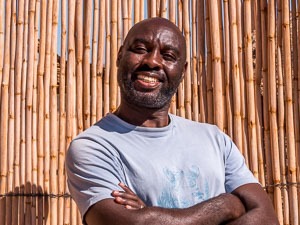 Namibia Rundreise Corona, Twyfelfontein Adventure Camp, Staff, Portrait