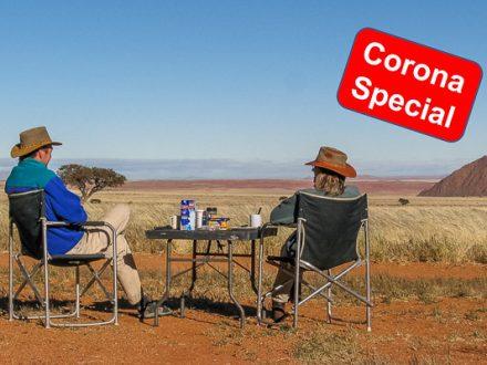 Namibia Camper Reise, Corona, Selbstfahrer, Mietwagen, Abstand