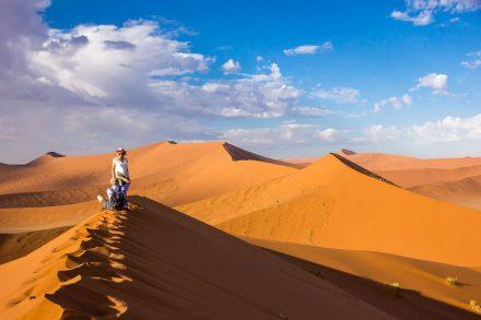 Namibia Selbstfahrer Rundreise, Sossusvlei, Dune 45, Afrika Erfahren